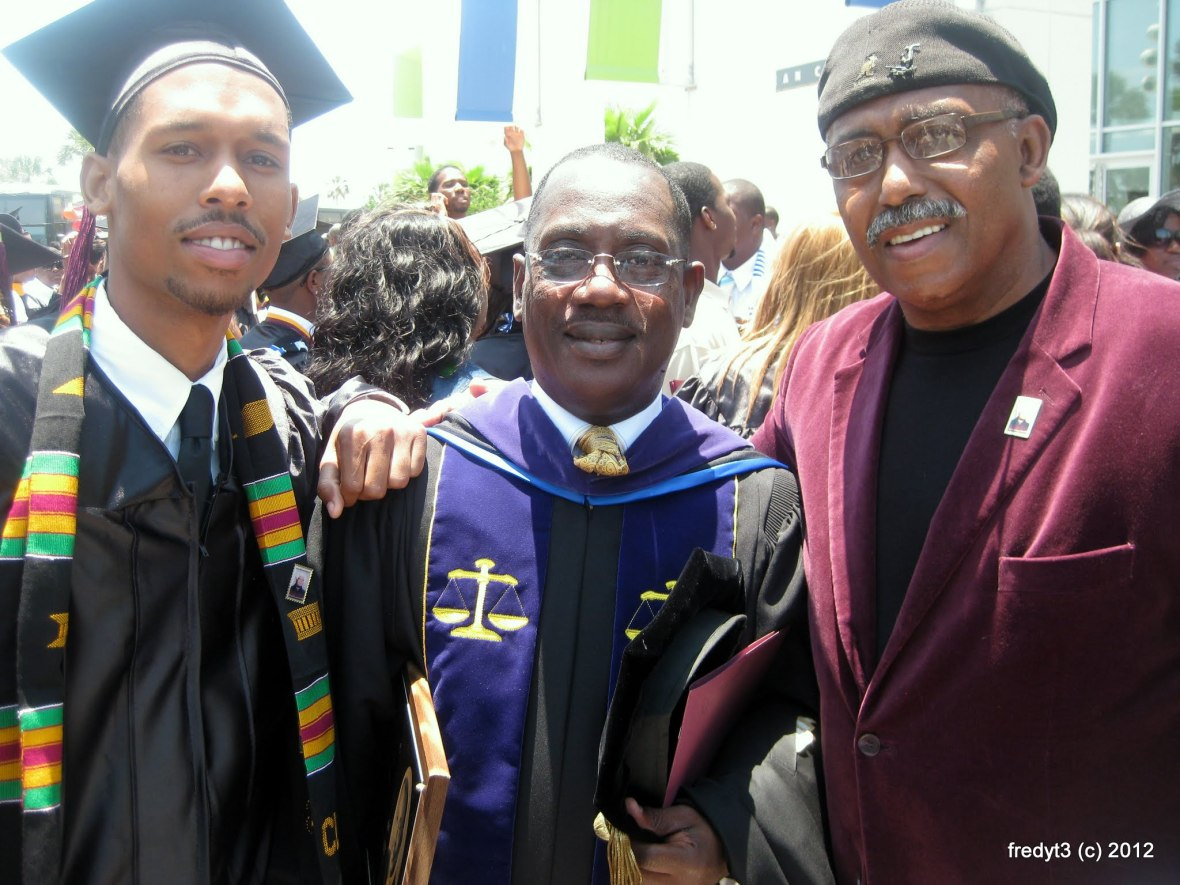 Chancellor & Chairman Dr. Hansfield & Fred IV & Fred III