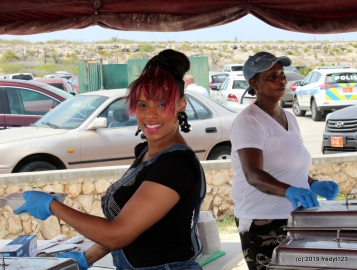 The Queen of Big Mama - Leticia serving up smiles and always taking care of her customers