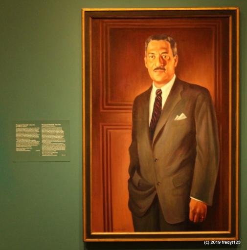 National Portrait Galley - Thurgood Marshall