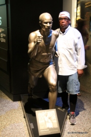 Willie with Jesse Owens