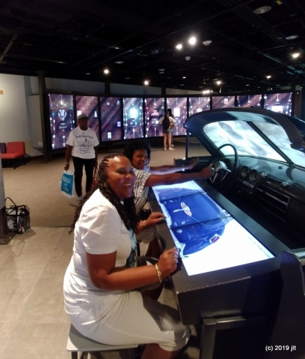 Judith and Del at Green Book exhibit at NMAAHC