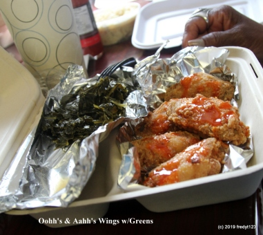 wings & greens