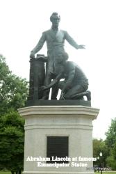 Lincoln Park - Emancipator statue