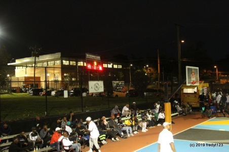 Court side seats at the GL Arena