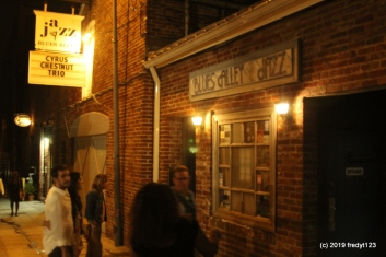 famous Blues Alley in Georgetown