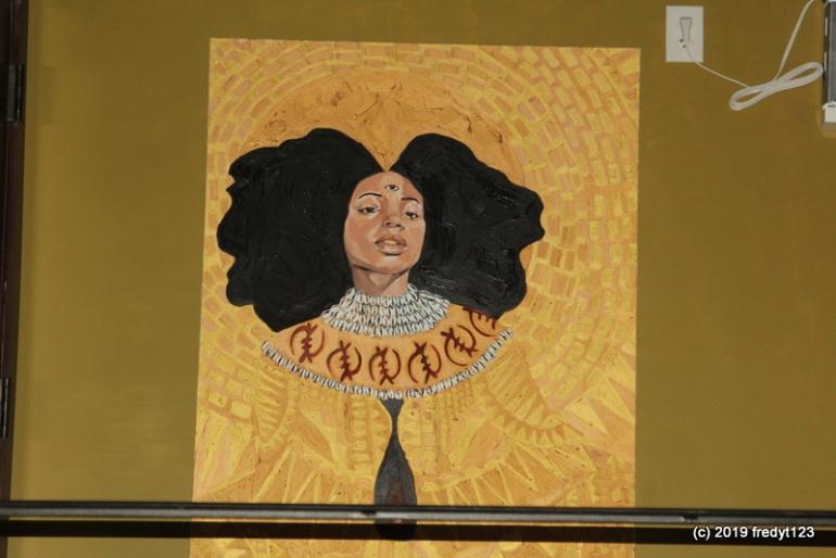 Busboy's & Poets artwork - Anacostia