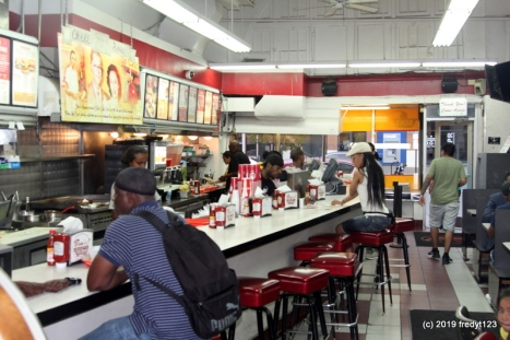 inside Ben's Chili Bowl