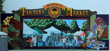 Sonora Farmer's Market mural