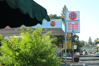 Gunn House Hotel - price of gas