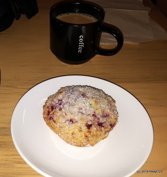 Sonora - Eighty One Coffee house - scone