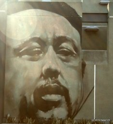 Mural of Charles Mingus