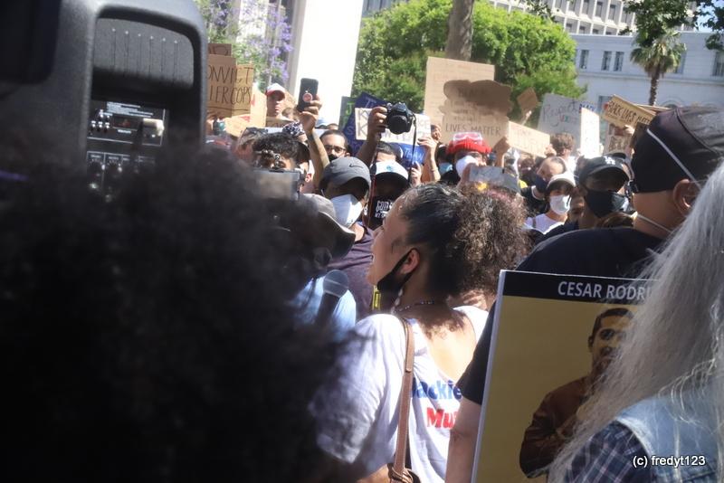 Dr. Melina Abdullah, BLM/Los Angeles