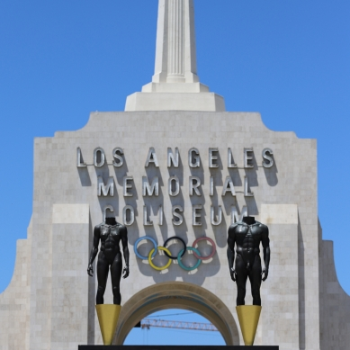 Robert Graham statues from 1984 Summer Olympics